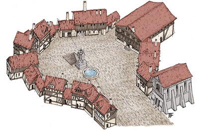 Ptolus - Delver's Square